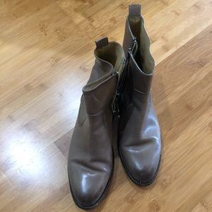 Frye Ankle Boots in Grey